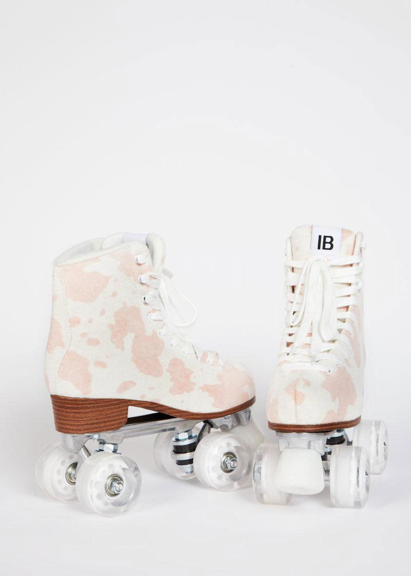 Whip it Skate - Baby Pink Moo