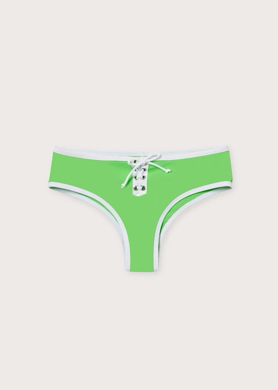 Amalfi Swim Bottom - Kiwi - cara cara
