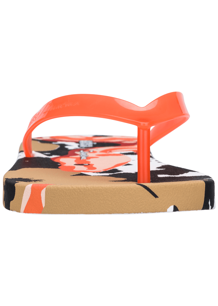 Ipanema Flip Flops - Orange/Beige