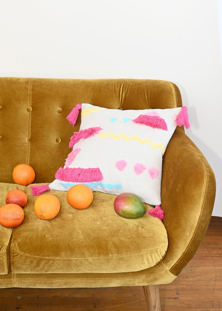 Abstract Pillow - Rosa