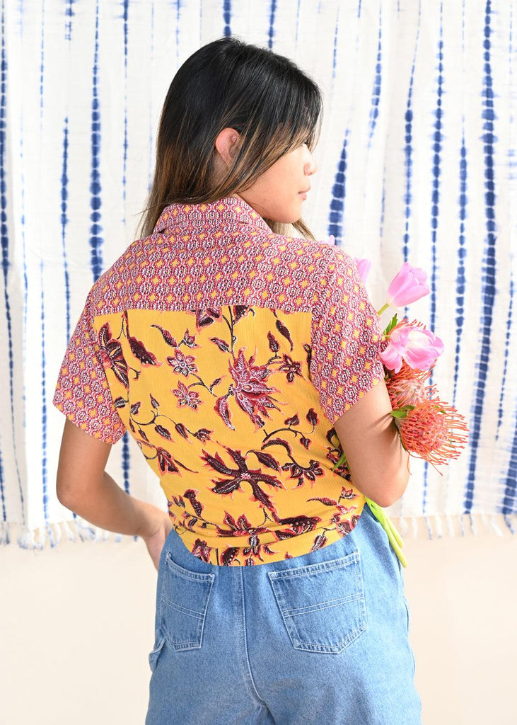 Daze in the Sun Button Up Top