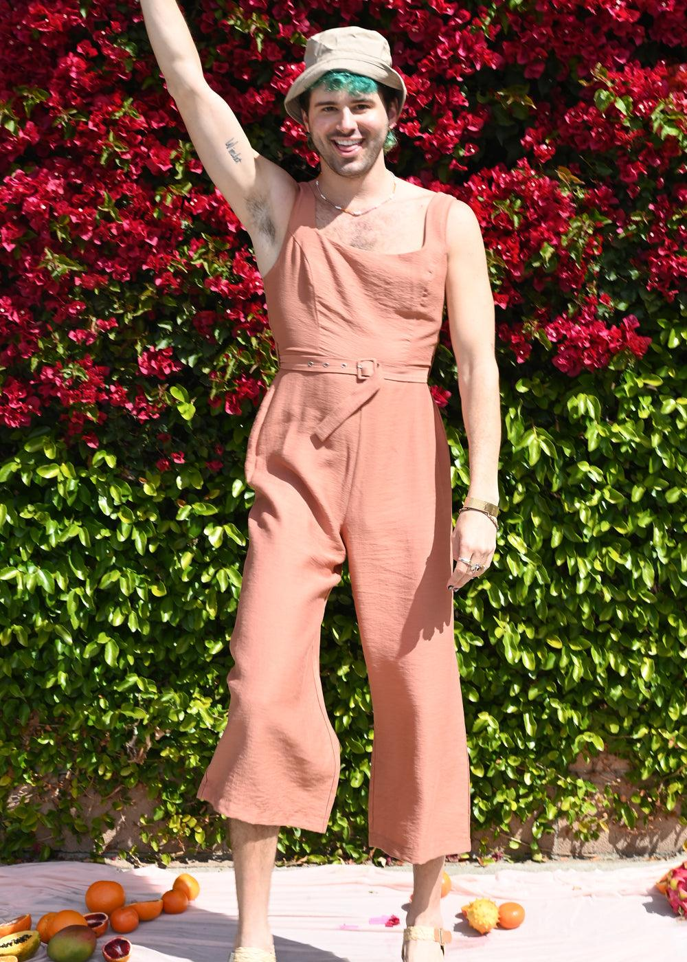 Chasse Jumpsuit - Clay