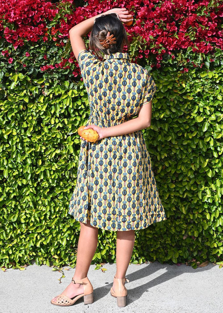 Audrey Dress - Palm Sunday