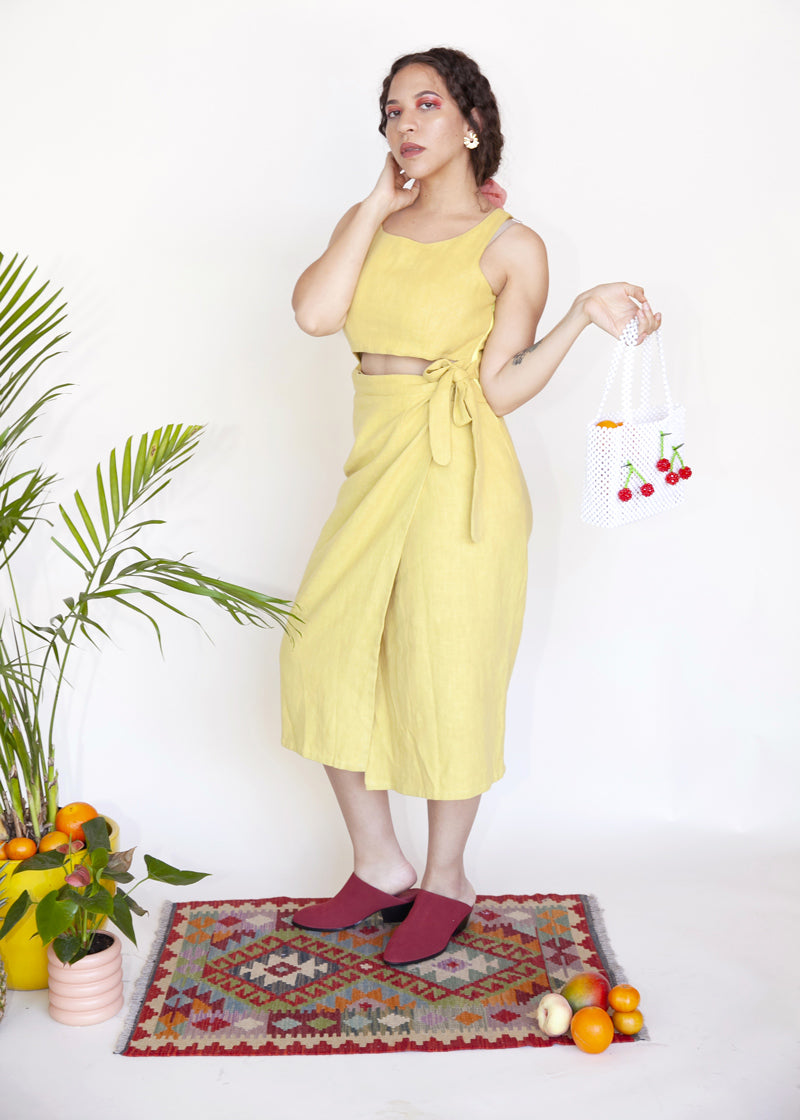 Tulip Dress - Sunflower - cara cara
