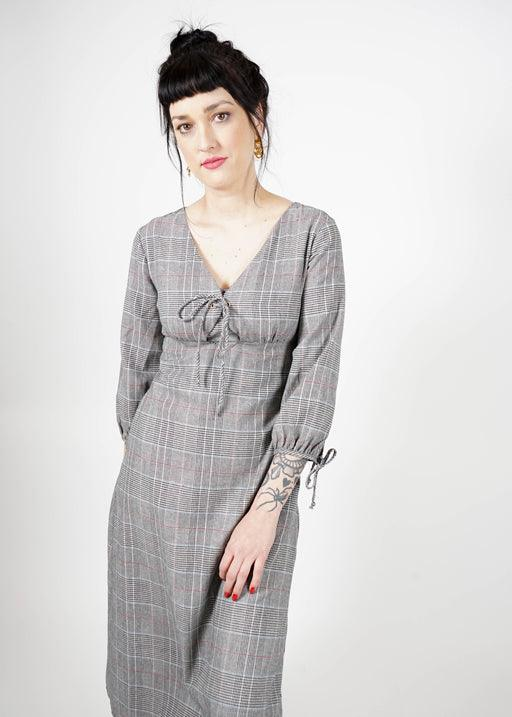 Jojo Plaid Dress