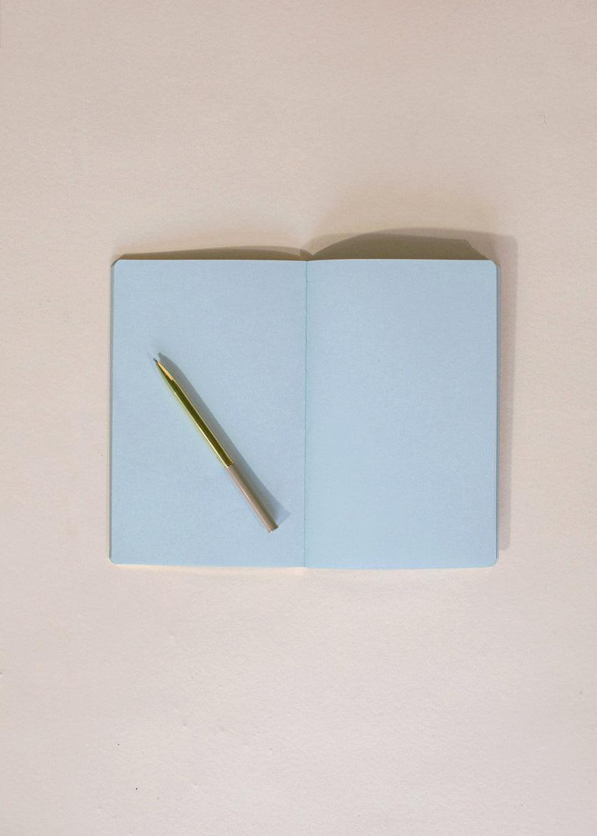 Edge Notebook - Light Blue - cara cara