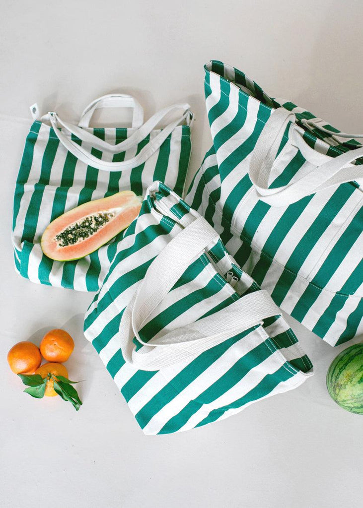 Duck Bag - Palm Stripe - cara cara
