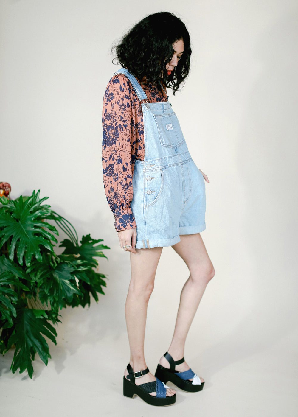 Vintage Shortall - Short and Sweet - cara cara