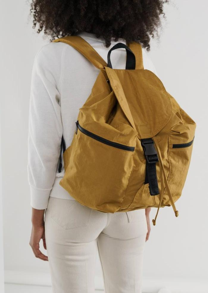 Large Sport Backpack - Camel
