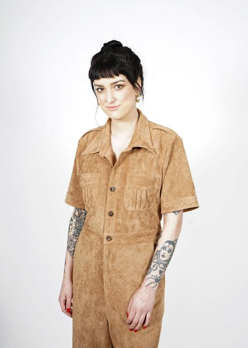 Marrs Jumpsuit - Suede