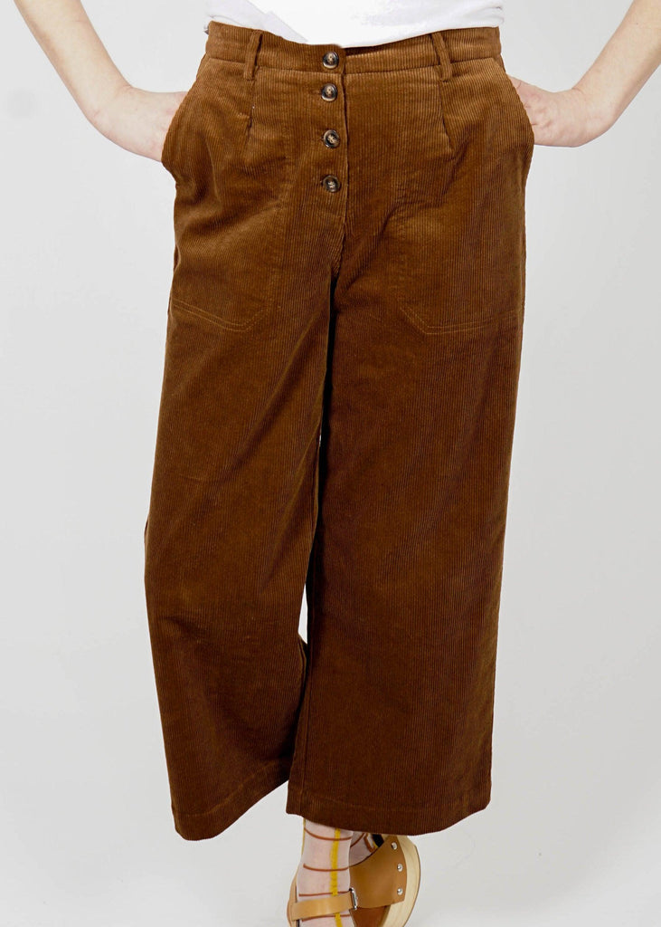 Marshall Pant - Mocha Stretch Cord