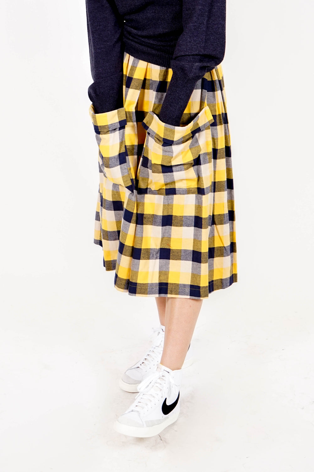 Two Pocket Skirt - Buffalo Check
