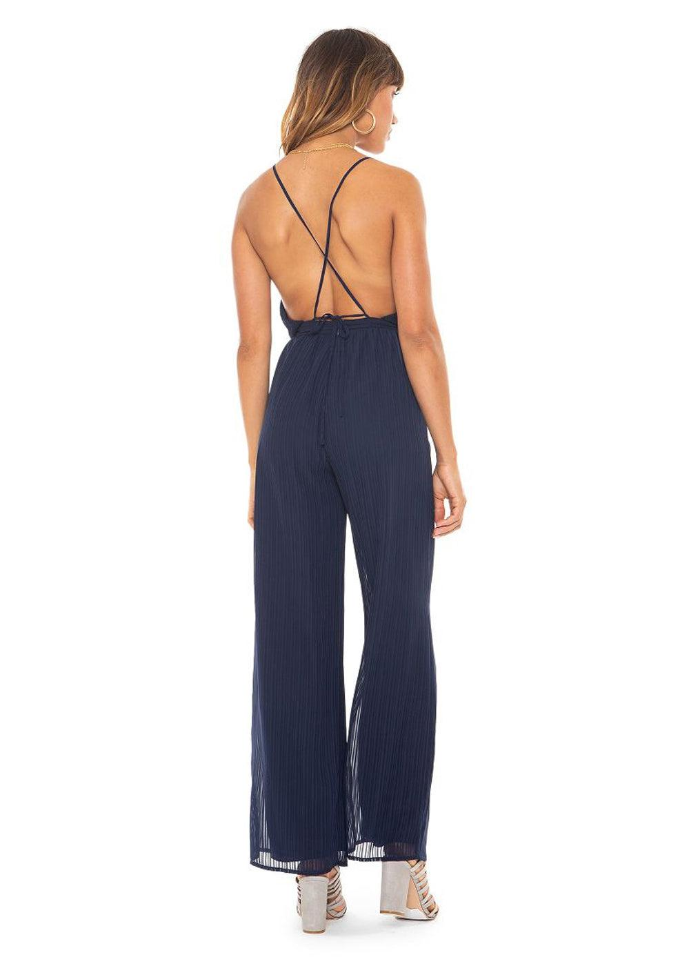 Emilia Jumpsuit - Midnight