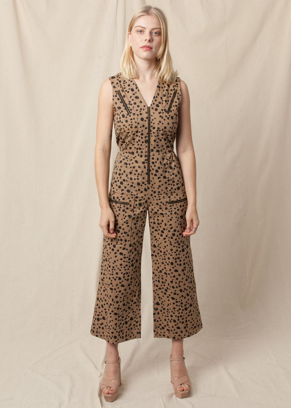 Mickey Jumpsuit - Honey Dalmation
