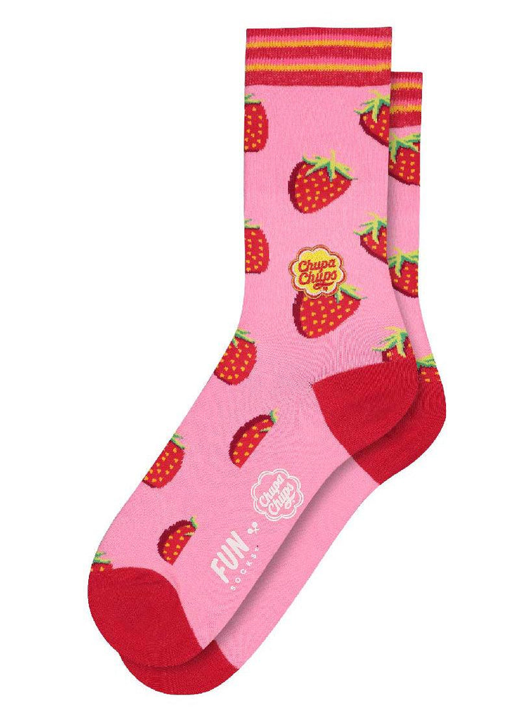 Chupa Chups Strawberry Crew - cara cara