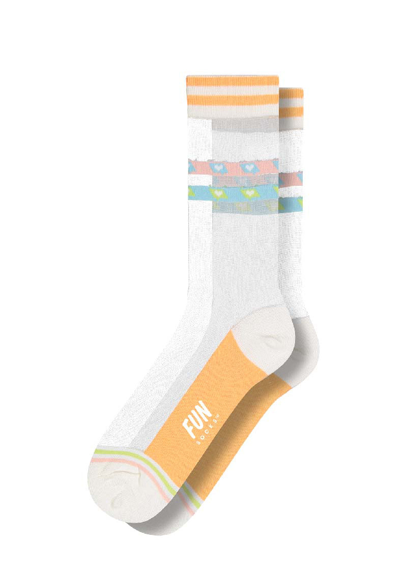 Clear Sheer Socks - cara cara