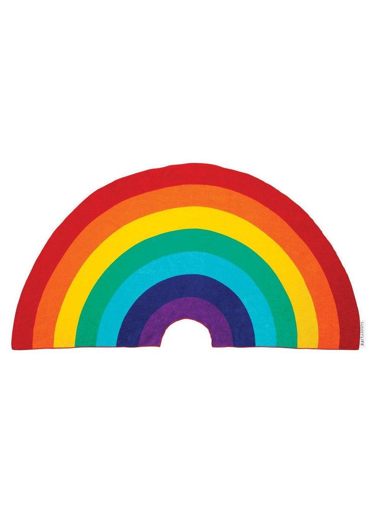 Rainbow Shaped Towel - cara cara