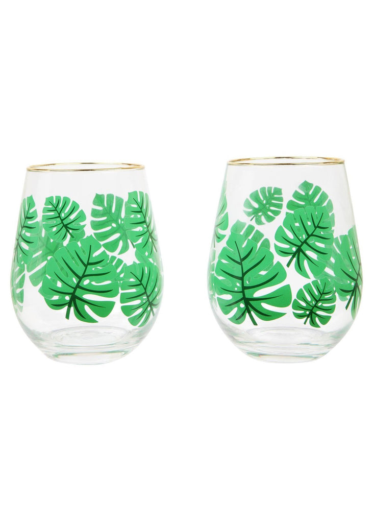 Stemless Cocktail Glasses Monteverde Set of 2 - cara cara