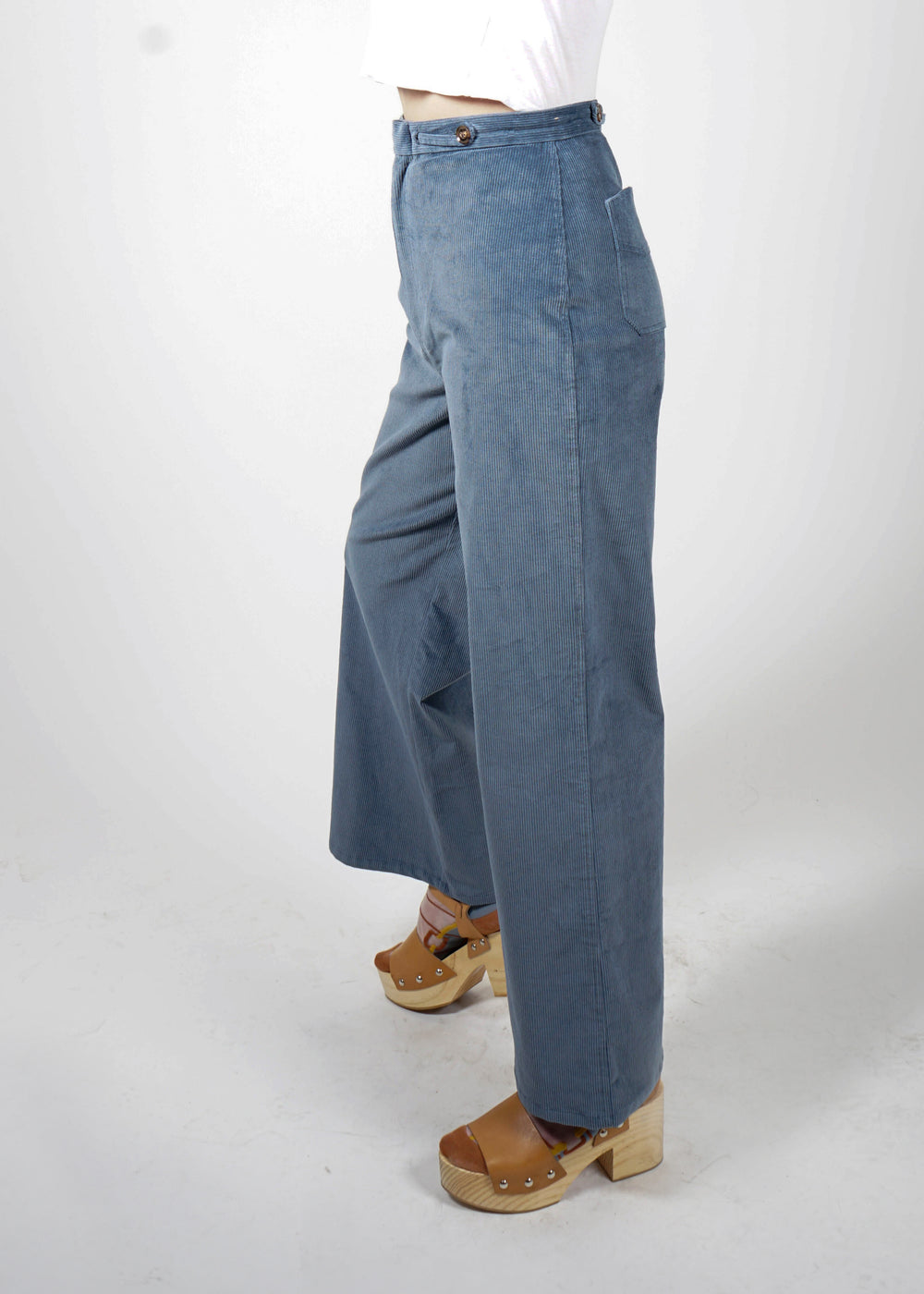 Spencer Pant - Slate Stretch Cord