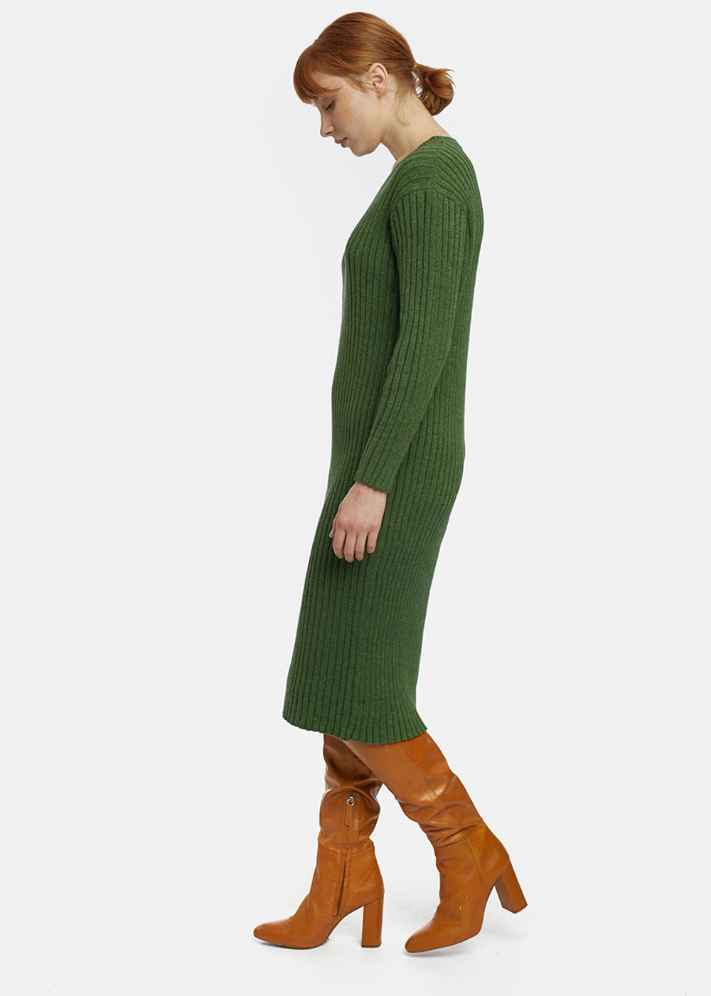 Sweater Dress - Green