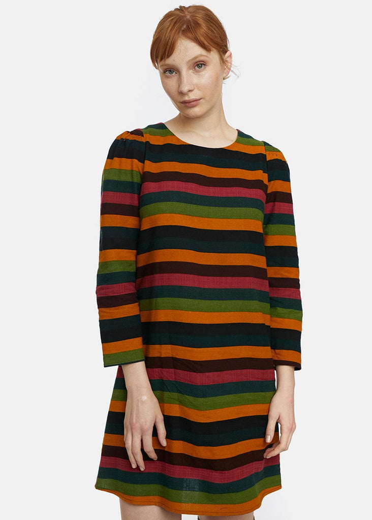 Dress - Multi Stripe