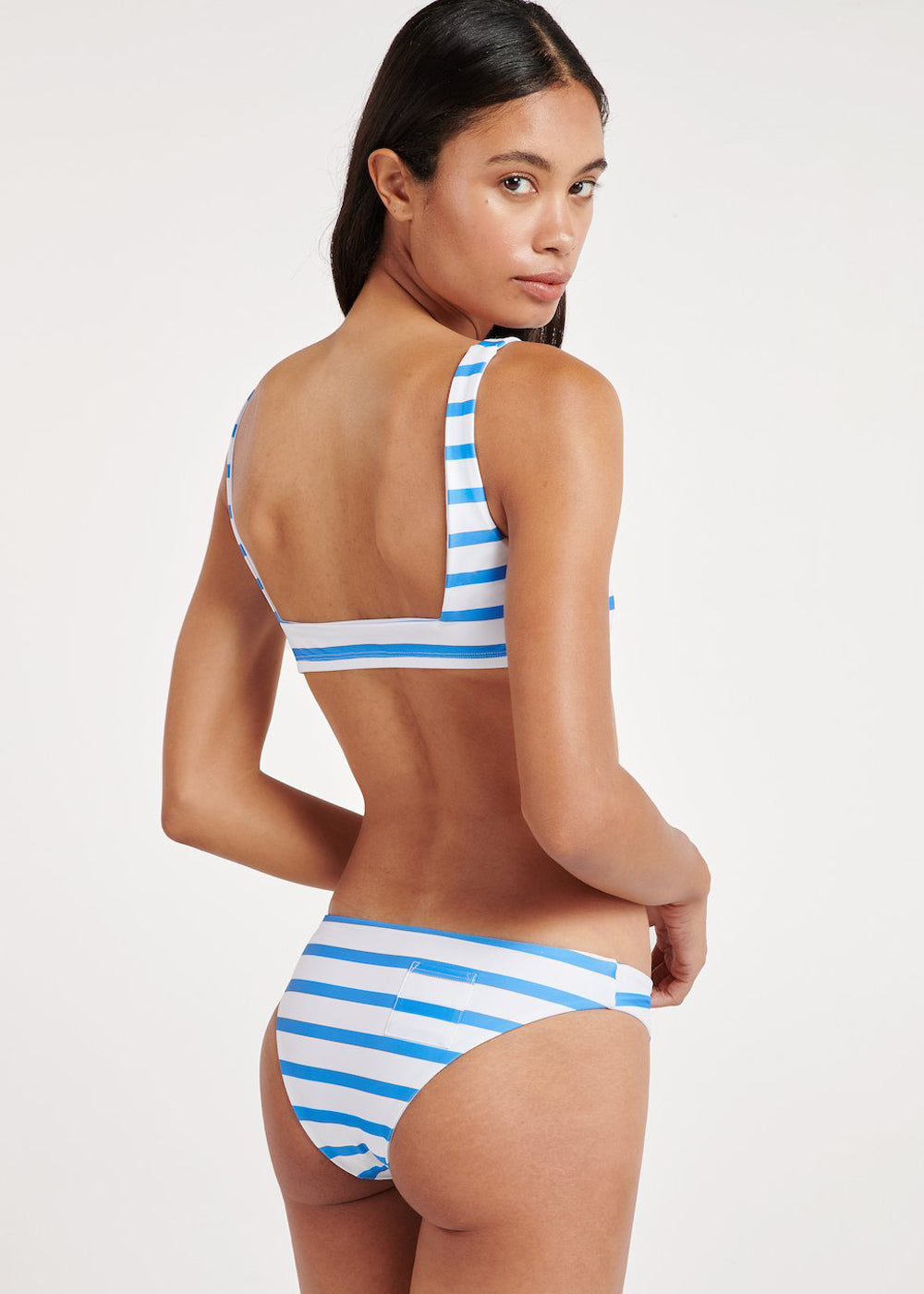 Zuma Swim Bottom - Ocean Stripe - cara cara
