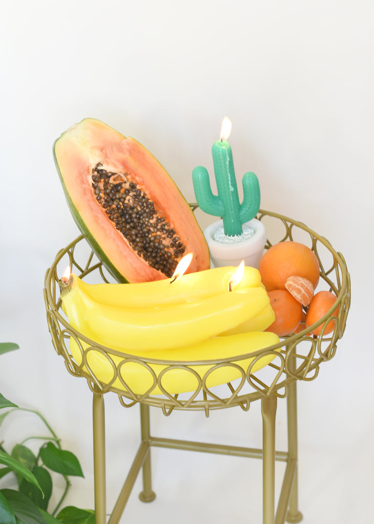 Tall Cactus Candle Small - cara cara