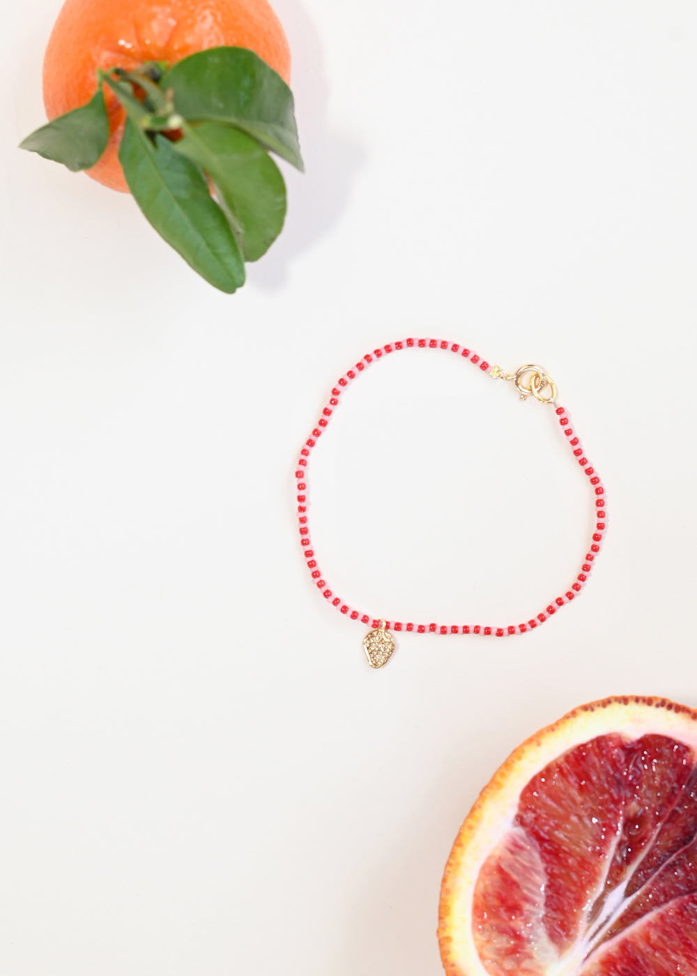 Strawberry Anklet
