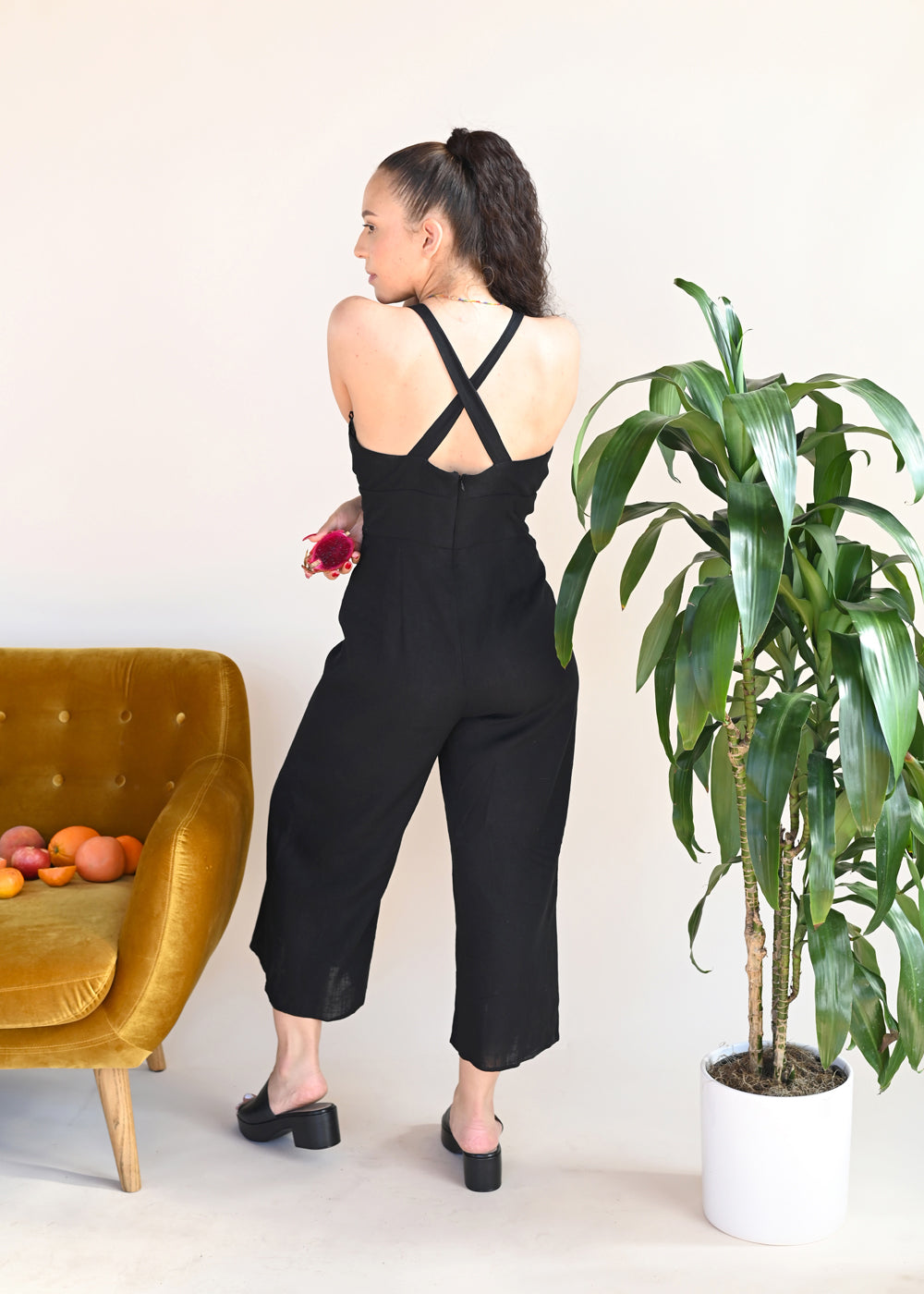 Sally Pantsuit - Black