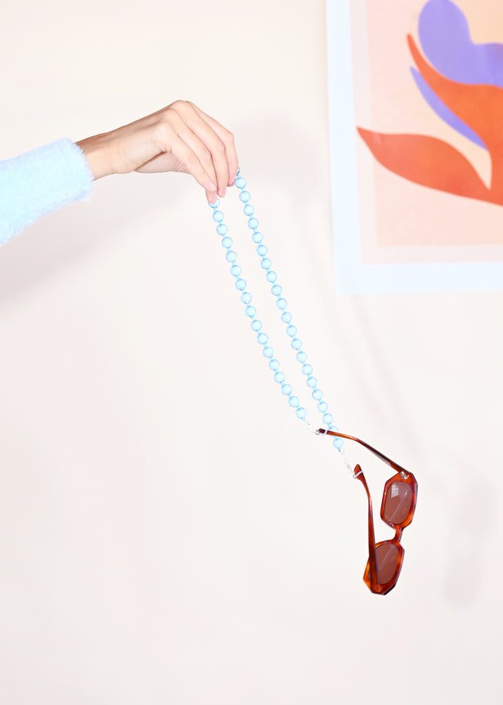 Sunglass/Mask Chain - Wave