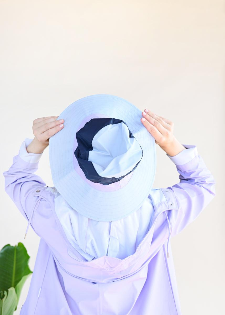 Boonie Hat - Ice Grey/Blue
