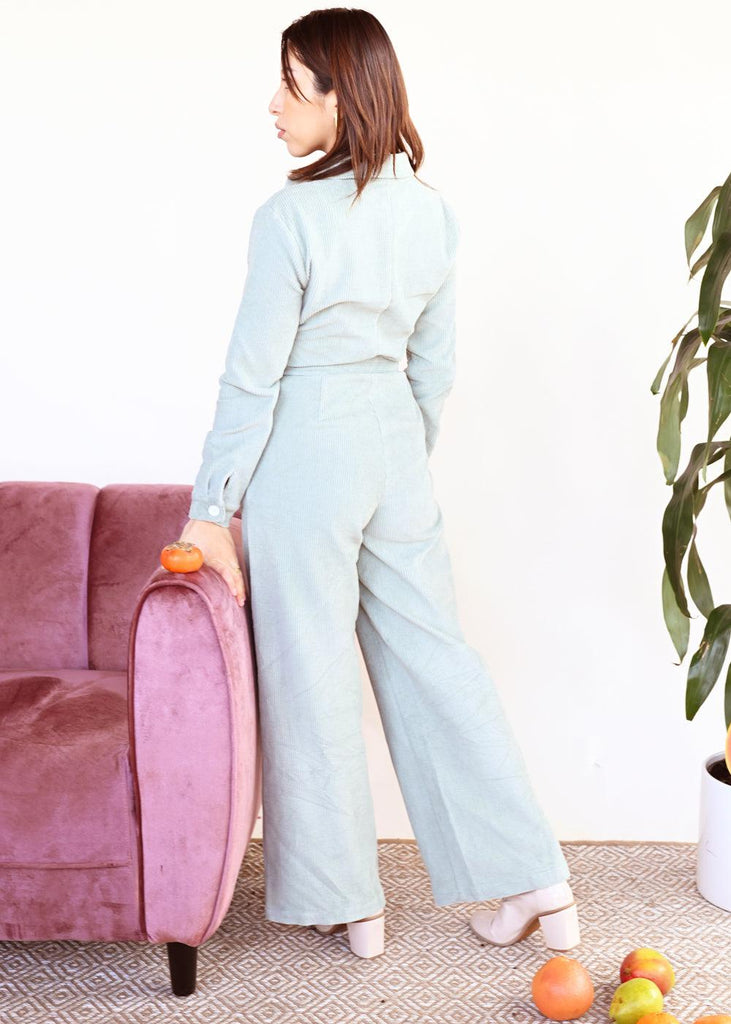 Ha Long Jumpsuit - Sea Foam