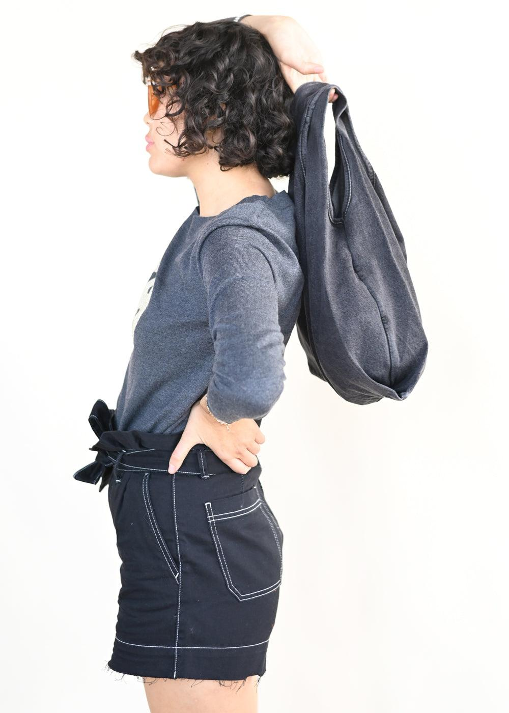 Medium Baggu - Washed Black