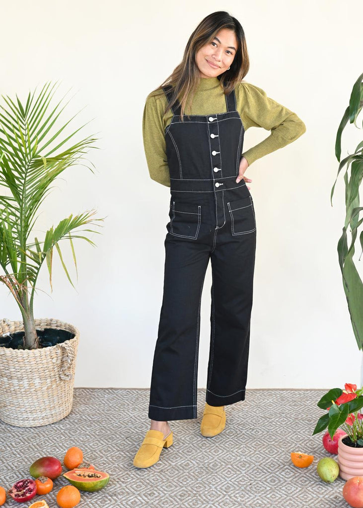 Lexi Jumpsuit - London Black