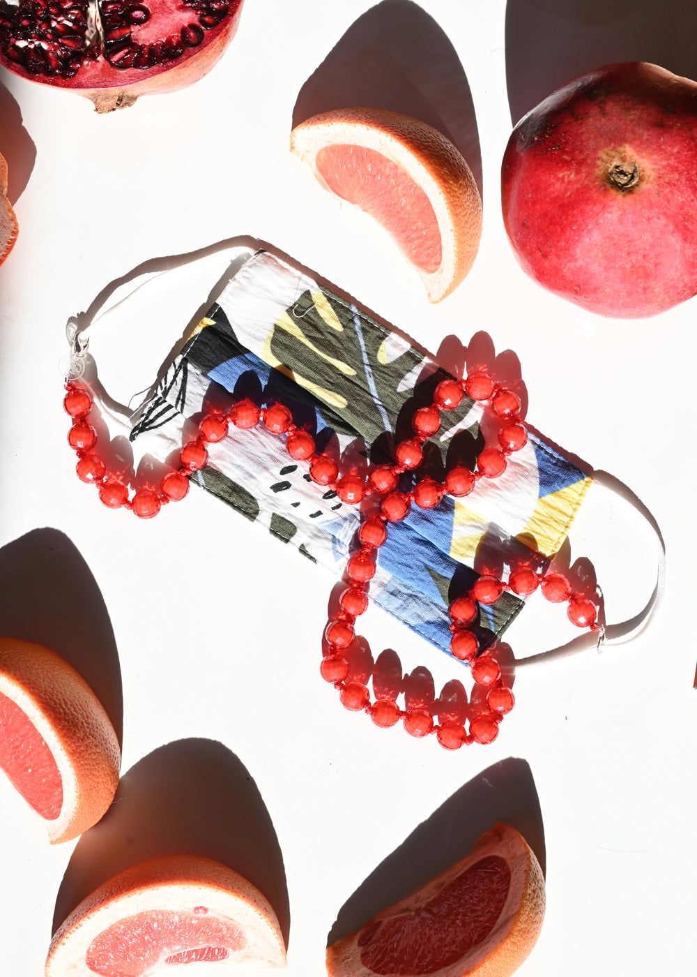 Sunglass/Mask Chain - Cherry