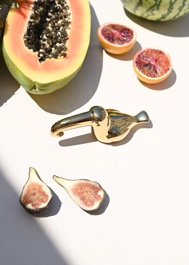 Luxe Bottle Opener Toucan - cara cara