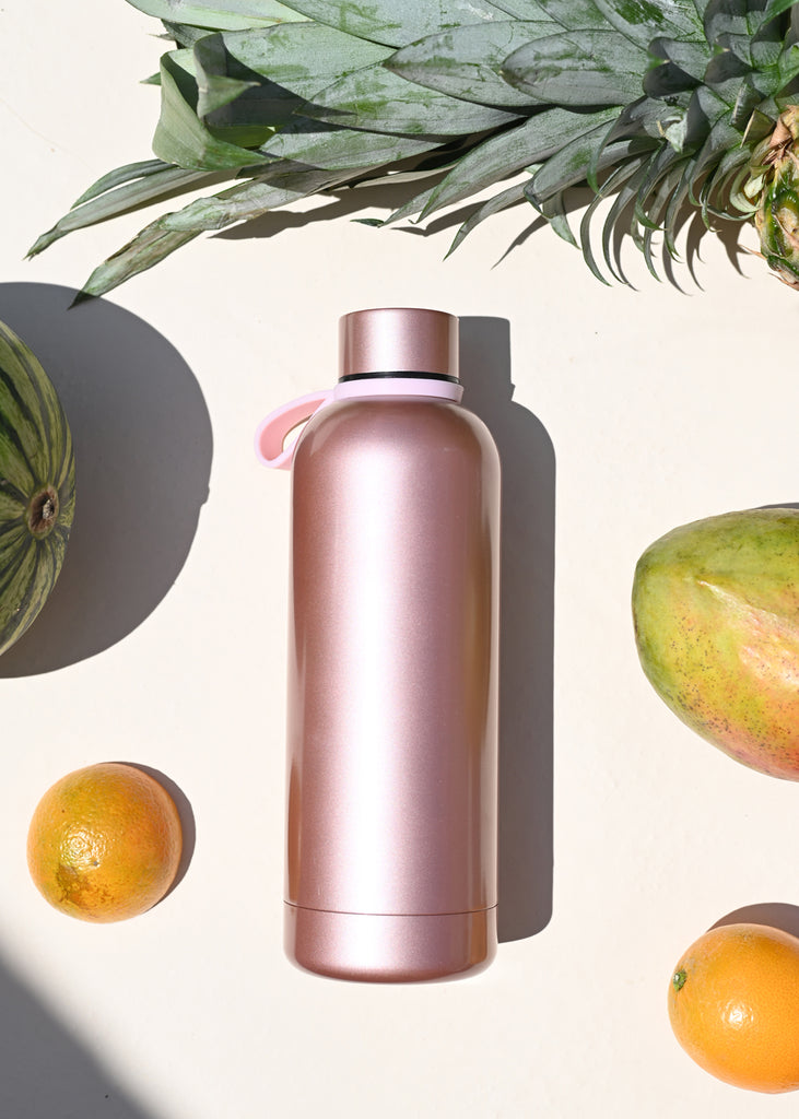 Water Flask Rose Gold - cara cara