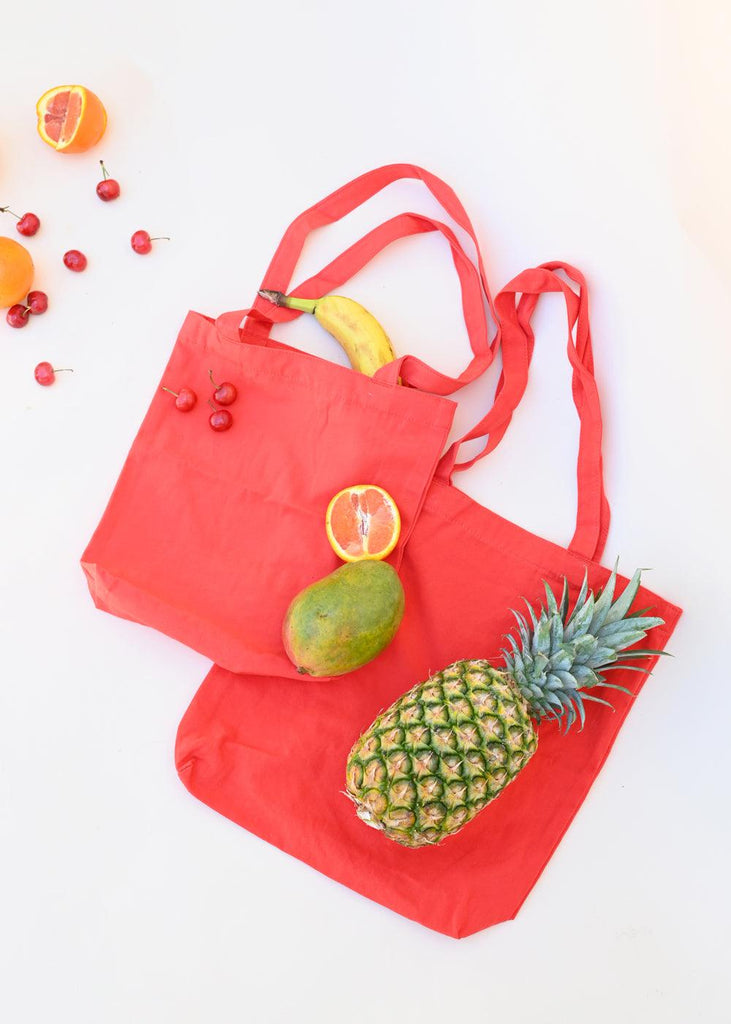 Merch Tote - Warm Red - cara cara