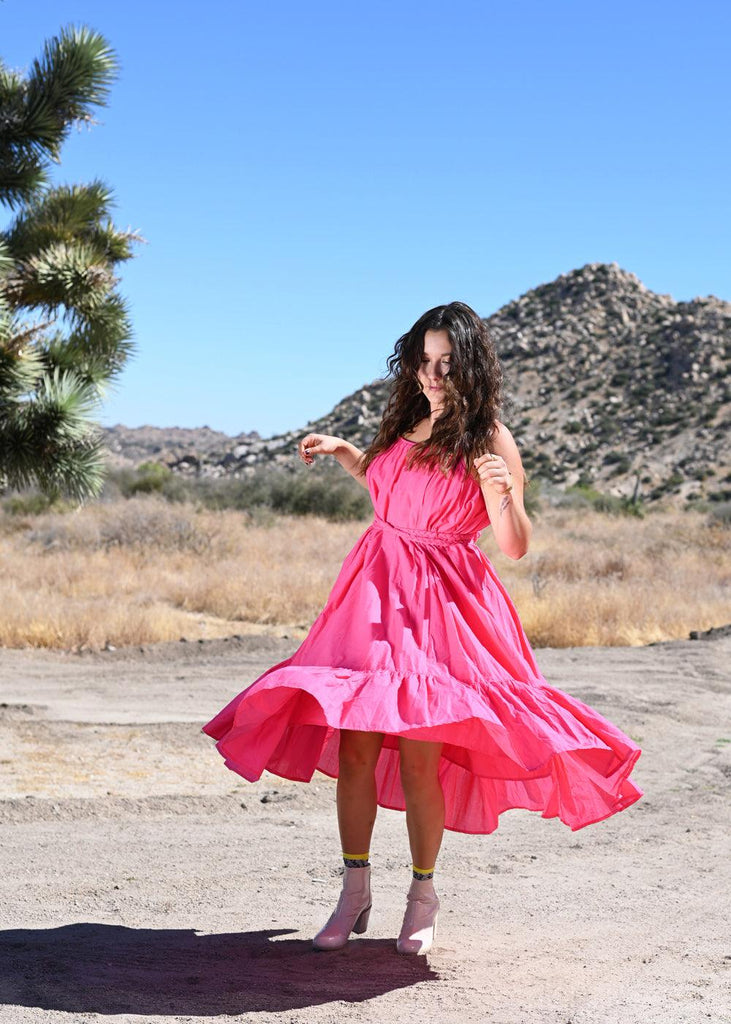 Lea Dress - Hot Pink
