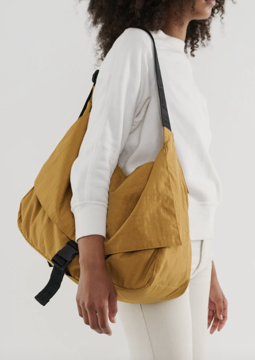 Travel Sport Messenger Bag - Camel
