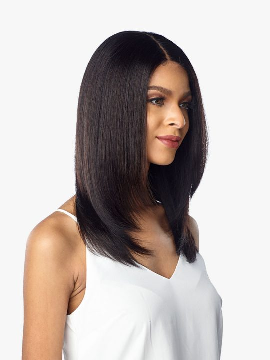 Virgin Human Hair Lace Wig Straight 10A