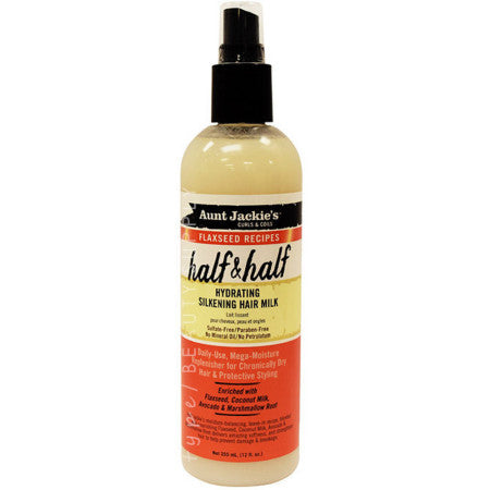 Aunt Jackie's- Curls & Coils/Flaxseed Recipes Half & Half 12 oz