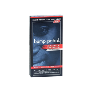 Bump Patrol- Aftershave Razor Bump/Burn Treatment Maximum Strength 2 oz