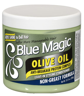Blue Magic Leave In Conditioner- Olive Oil 13.75 oz