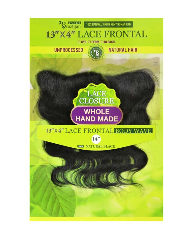 Temple Lace Frontal 13X4