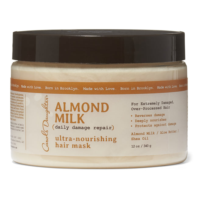 Carol's Daughter Almond Milk- Ultra Nourishing Hair Mask 12 oz.
