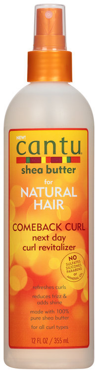 Cantu For Natural Hair Comeback Curl Next Day Revitalizer 12 oz