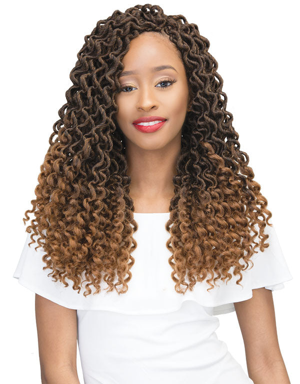 Janet Collection 2X Mambo Curly Bohemian Locs