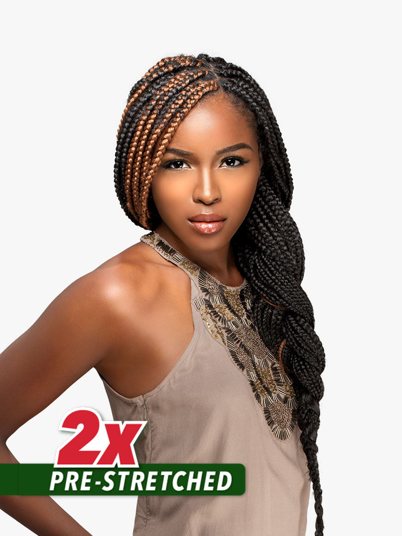 2X X-Pression African Collection Prestretched Braiding Hair 48""