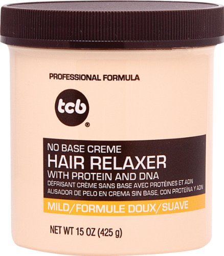 TCB- Mild No Base Creme Hair Relaxer 15oz